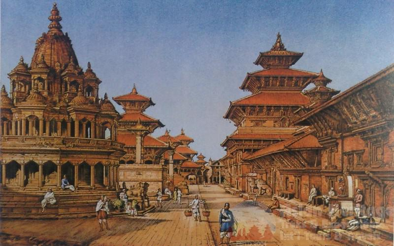 Beautiful Patan Durbar Square