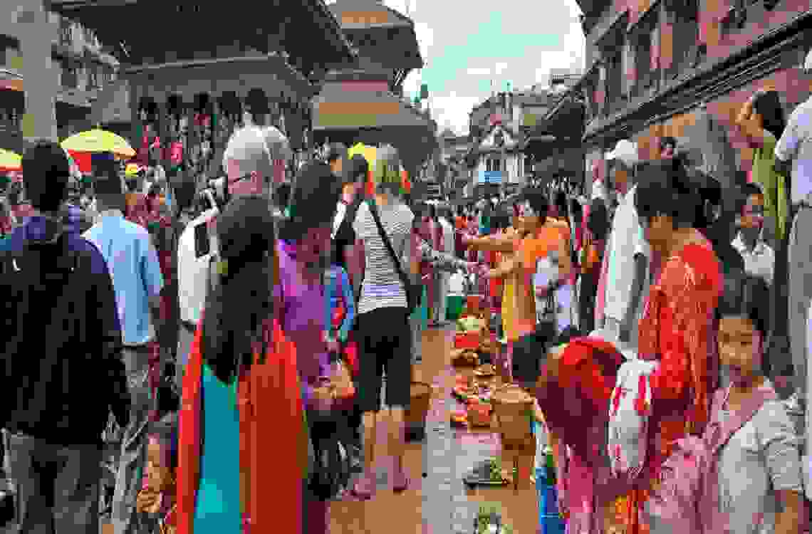 Gai Jatra at Lalitpur Durbar Square