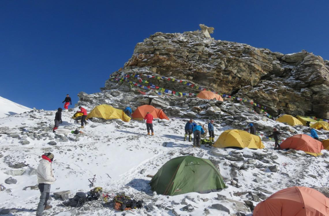 Mera Peak HIgh camp