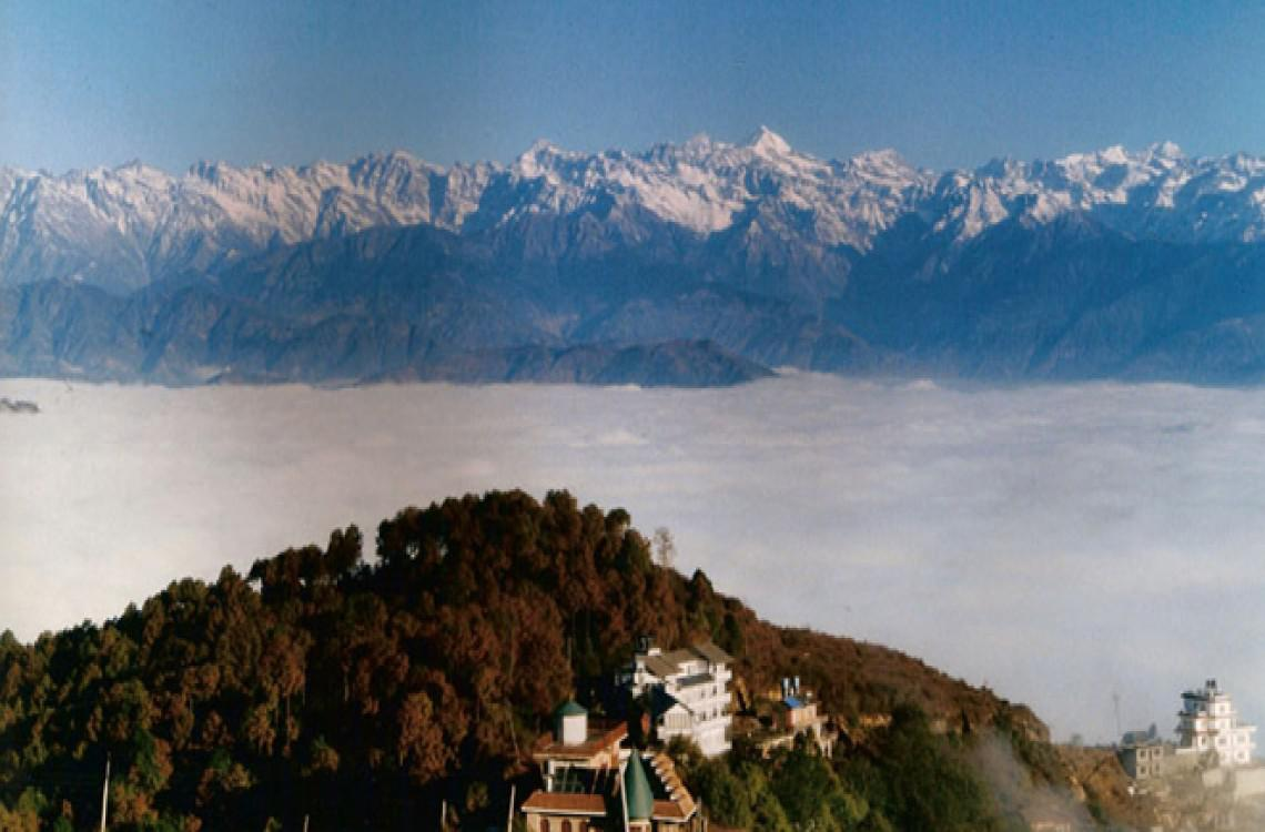 NAGARKOT ABOVE THE CLOUDS