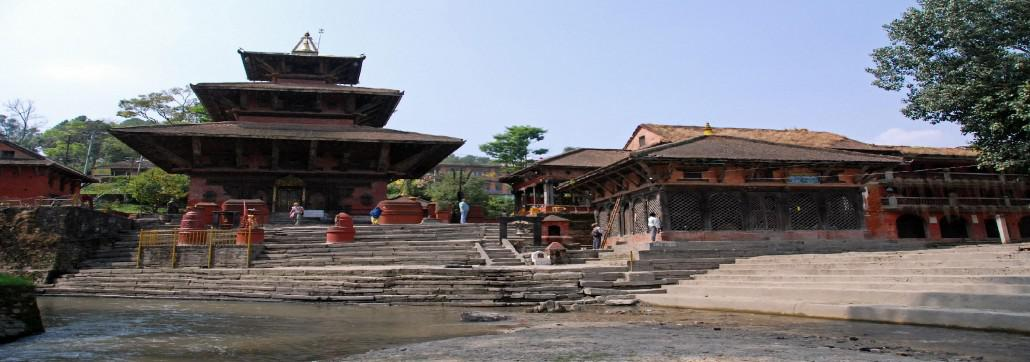 Kathmandu Gokarna Mahadev Temple On The Banks of the Bagmati River