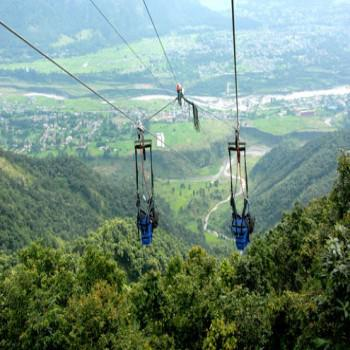 Zipline at Pokhara